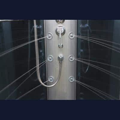 "Mesa 801L Steam Shower 42""L x 42""W x 85""H - Houux"