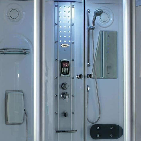 "Mesa 807A Steam Shower Tub Combo 67""L x 35""W x 86""H - Houux"