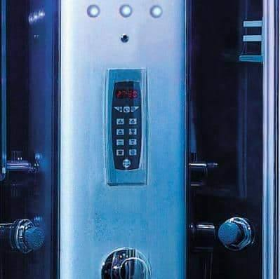 "Mesa 9090K Steam Shower 36""L x 36""W x 87""H - Blue Glass - Houux"