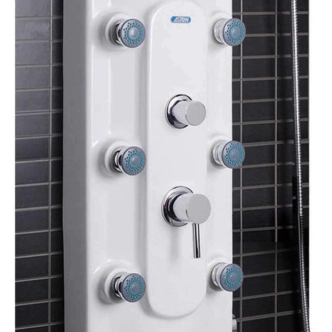 ARIEL Shower Panel System Acrylic A115 6 Jets, Waterfall Shower Head - Houux