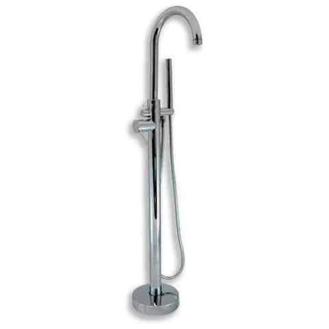 Cambridge Plumbing Freestanding Tub Faucet and Shower Wand CAM150