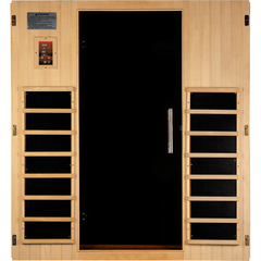 Golden Designs Infrared Sauna Dynamic Madrid II Edition 3 Person DYN-6310-02