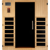 Image of Golden Designs Infrared Sauna Dynamic Madrid II Edition 3 Person DYN-6310-02 - Houux