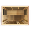 "Image of Golden Designs Dynamic ""Palermo"" 3-Person Low EMF Far Infrared Sauna DYN-6330-01 - Houux"