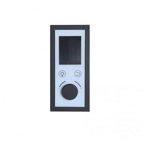 "Sunray Seacrest Luxury Traditional 2 Person Steam Sauna 59""x42""x75"" 220LX Controls"