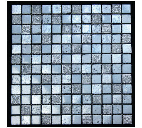 Legion Furniture Mix Tile MS-MIXED08 Stone