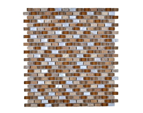 Legion Furniture Tile MS-MIXED31 Mosaic With Stone-SF
