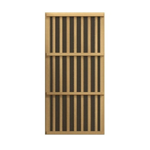 Golden Designs Maxxus 2 Per Low EMF FAR Infrared Carbon Canadian Hemlock Sauna MX-K206-01
