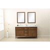 Image of Legion Furniture Unique Bathroom Mirrors and Linen Cabinet Dual Vanity WLF7030-60 - Houux