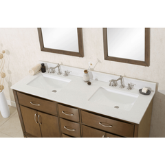 Legion Furniture Unique Bathroom Mirrors and Linen Cabinet Dual Vanity WLF7030-60