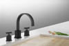 Image of Legion Furniture ZY2511-OR UPC Faucet With Drain, Oil Rubber Black - Houux