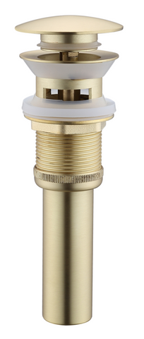 Legion Furniture ZY8009-G UPC Faucet With Drain, Gold - Houux