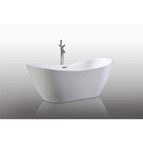 "Legion Furniture Soaking Bathtub - Freestanding 71"" WE6846 - Houux"