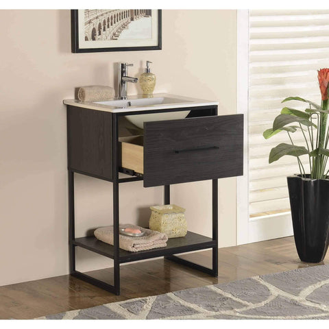 Legion Furniture Bathroom Vanity with Sink 24 inch WH7024 - Houux