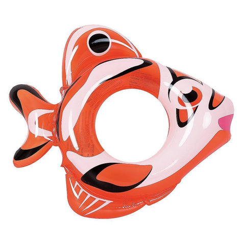 Adventurous Fish - Inflatable Pool Tube (Orange) - Houux