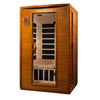 "Image of Golden Designs Dynamic ""Versailles"" 2-Person Low EMF Far Infrared Sauna DYN-6202-03"