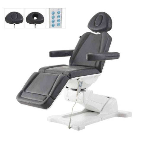 DIR Salon Facial Beauty Bed & Chair Pavo Full electrical with 4 motors DIR 8709BL - Houux