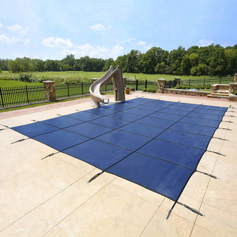20-Year Ultra Light Solid In-Ground Pool Safety Cover - Houux