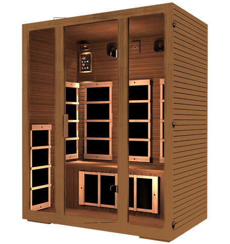 JNH Lifestyles Freedom 3 Person Sauna Special Package - Houux