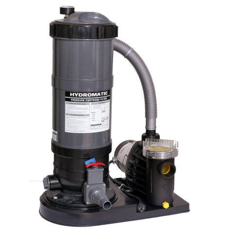 Above Ground Pool Cartridge Filter Equipment Package - Houux