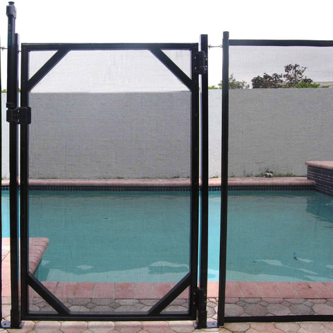 30-in Safety Fence Gate for In-Ground Pools - Houux