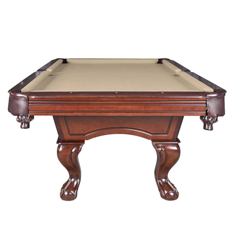 Augusta 8-ft Non-Slate Pool Table - Walnut Finish - Houux