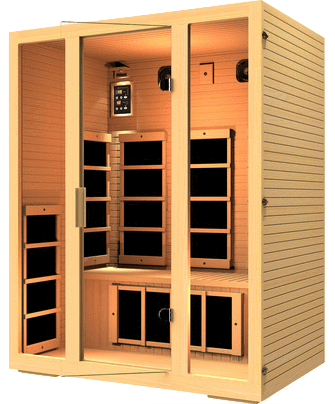 JNH Joyous 3 Person Sauna Special Package - Houux