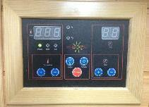 "SunRay Barrett 1-2 Person Infrared Sauna 36"" x 42"" x 75"" HL100C Dials"