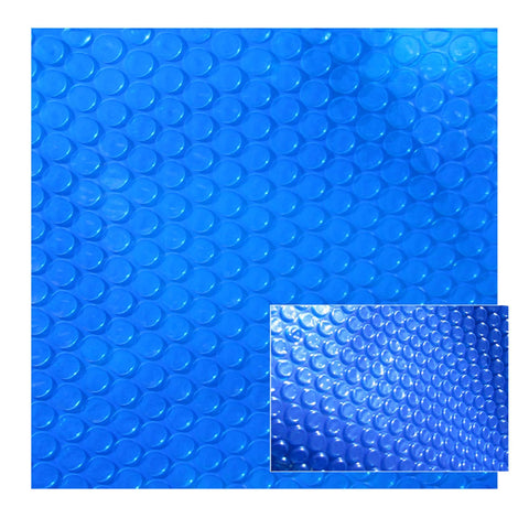 12-mil Solar Blanket for Rectangular In-Ground Pools – Blue - Houux