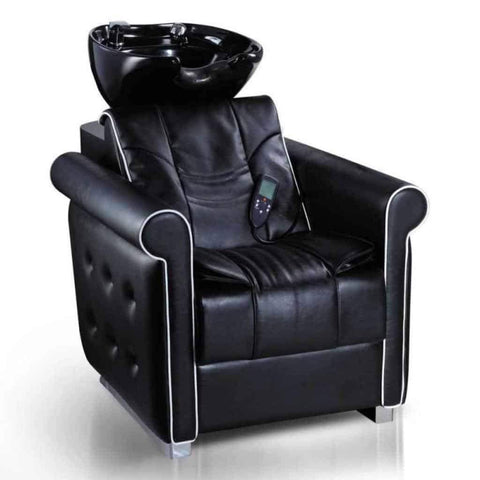 DIR Salon Massage Veyron Shampoo Backwash (1) and Kelly Styling Chair (3) Salon Package DIR 7067-1067 - Houux
