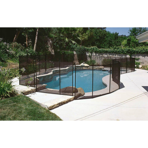 12-ft Safety Fence for In-Ground Pools - Houux
