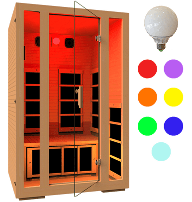 JNH Lifestyles Freedom 1 Person Sauna Special Package - Houux