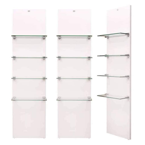 DIR Salon Vina Retail Display Shelves Package DIR 6801-3 - Houux