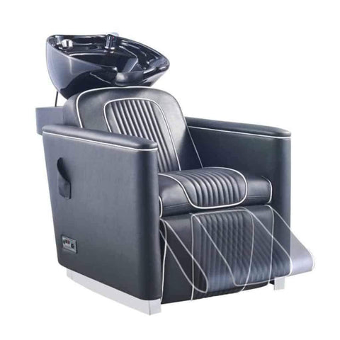 DIR Salon Shampoo Backwash Unit Alpine Massage with Electrical Leg Rest DIR 7777 - Houux