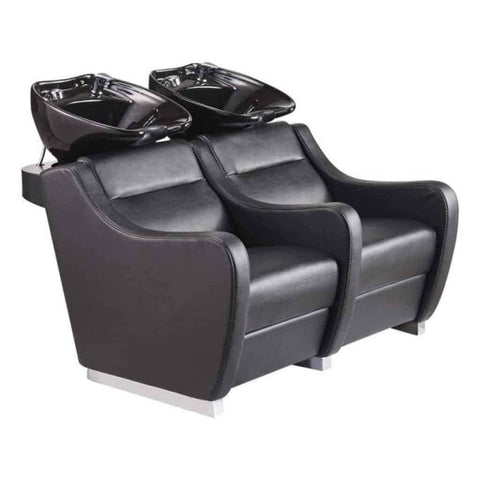 DIR Salon Shampoo Backwash Unit Majestic with Double Seats DIR 7899 - Houux