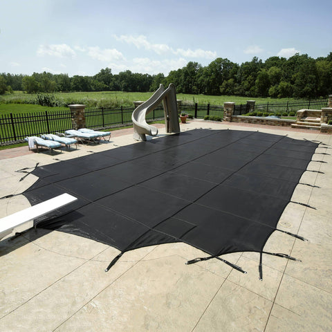 30-Year Premium Mesh In-Ground Pool Safety Cover - Houux