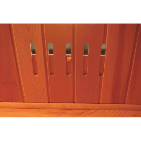 SunRay Saunas Cayenne 4 Person FAR Infrared Sauna HL400D