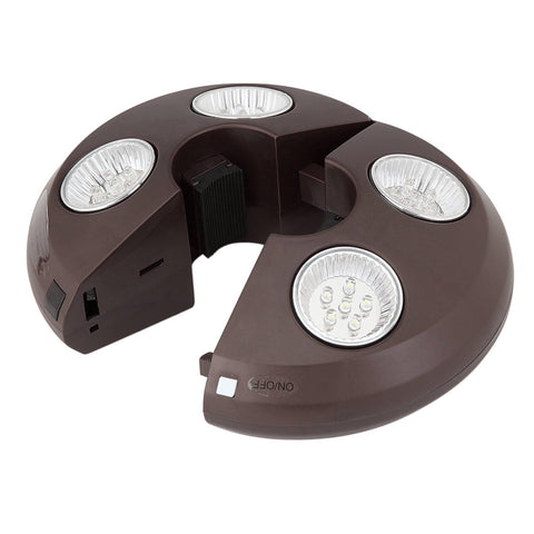 4-Light Rechargeable LED Umbrella Light - Houux