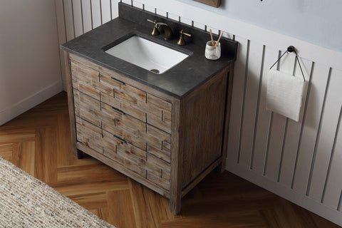 "Legion Furniture WH8636 36"" Wood Sink Vanity Match With Marble Wh 5136"" Top, No Faucet - Houux"