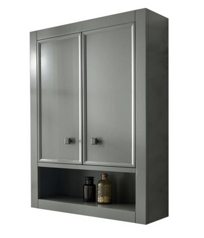 "Legion Furniture WLF2124-PG-TT 24"" Pewter Green Toilet Topper Cabinet - Houux"