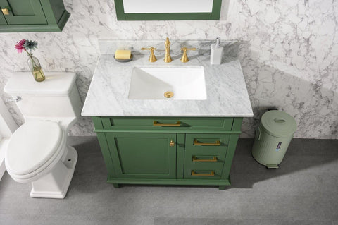 "Legion Furniture WLF2224-VG-TT 24"" Vogue Green Toilet Topper Cabinet - Houux"