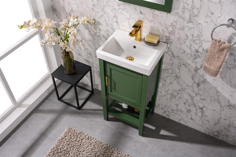 "Legion Furniture WLF9018-VG 18"" Vogue Green Sink Vanity - Houux"