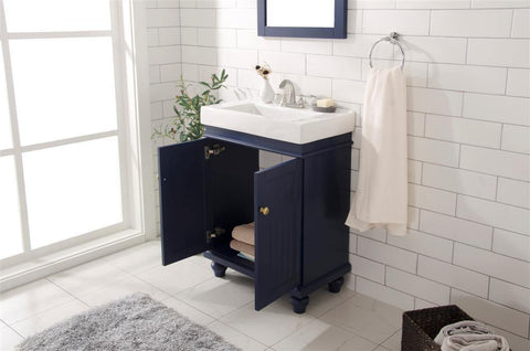"Legion Furniture WLF9324-B 24"" Blue Sink Vanity - Houux"