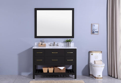 Legion Furniture WT7148-E Sink Vanity With Mirror, Without Faucet - Houux