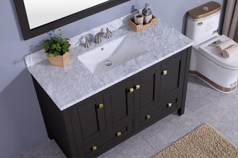 Legion Furniture WT7348-E Sink Vanity With Mirror, Without Faucet - Houux