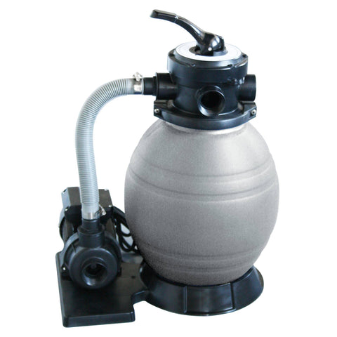 12-in Sand Filter System w/ 1/2 HP Pump for Above Ground Pools