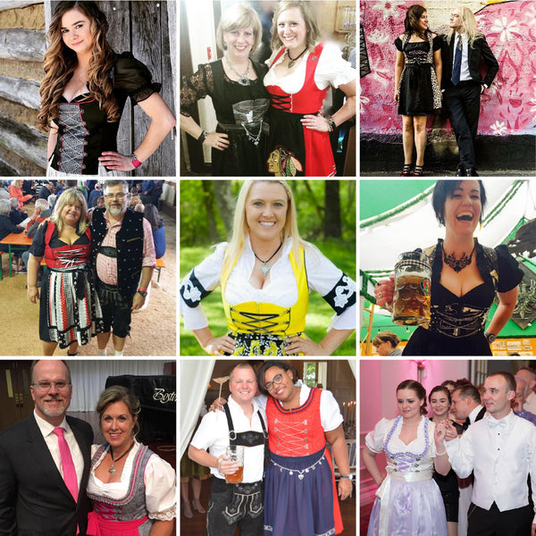 Rare Dirndl Happy Customers - Where to buy a dirndl in the US