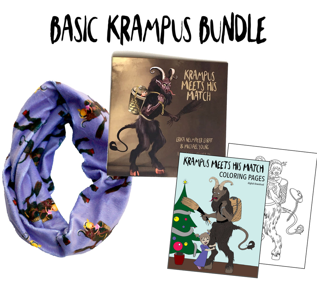 "Basic ""Krampus Meets His Match"" Bundle - Rare Dirndl"