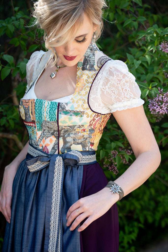 The Elephant Dirndl - Rare Dirndl