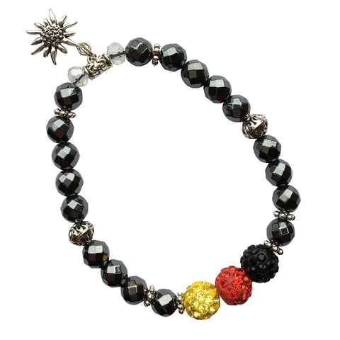 German Flag & Edelweiss Bracelet